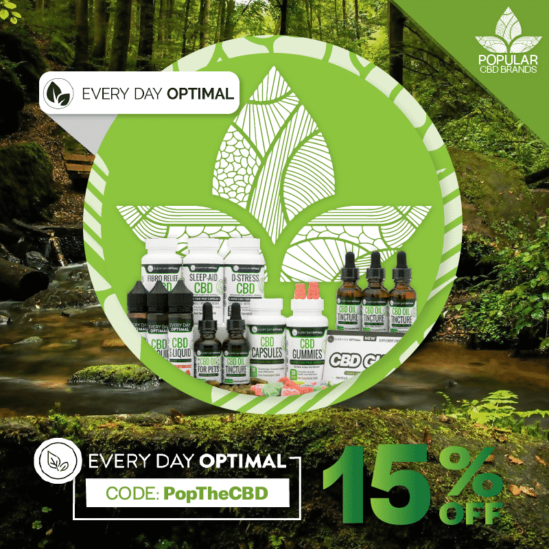 Best CBD oil - Every Day Optimal
