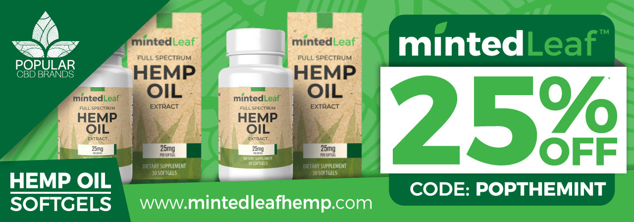 Softgels MintedLeaf Coupon