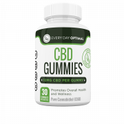 Every Day Optimal CBD Gummies, 10mg CBD Per Gummy